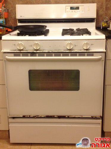 מודיעין תמונה של תנור אפייה אמריקאי רחב משולב כיריים - מודעה 735341 CM-23