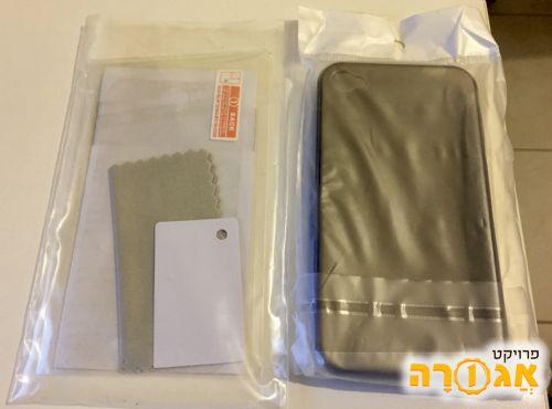 כיסוי בסיסי ומגן לאייפון 4