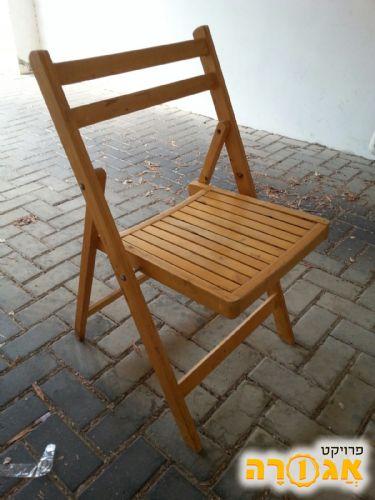 הוראות חדשות תמונה של 3 כסאות עץ מתקפלים - מודעה 1739573 WQ-38