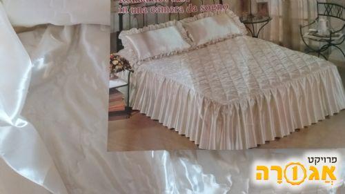 סט כיסוי מיטה+כיסוי כרית זוגי