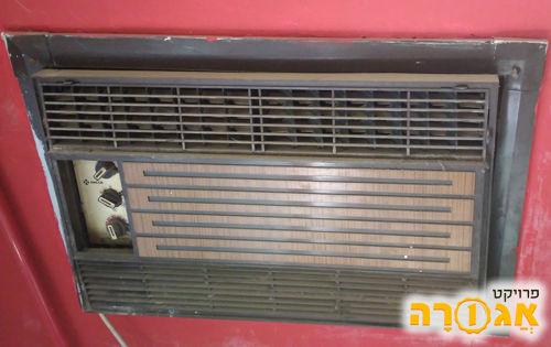 """מזגן חלון 1.5 כ""""ס ישן של אמקור"""