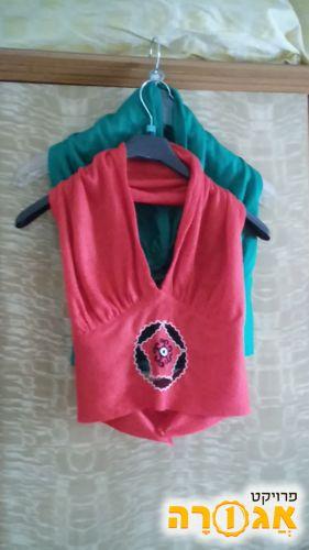 חולצות קיץ (בטן ) לנשים
