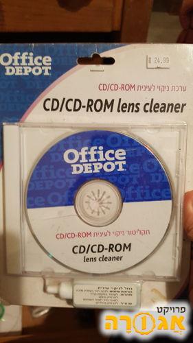 דיסק ניקוי לכונן דיסקים