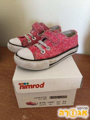 נעלי ילדות סניקרס