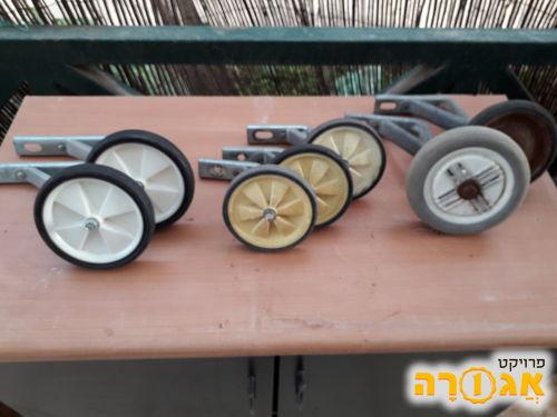 גלגלי עזר לאופניים ילדים