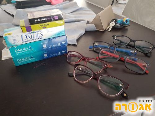 משקפיים ועדשות מינוס 6