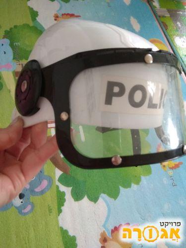 קסדה לתחפושת שוטר