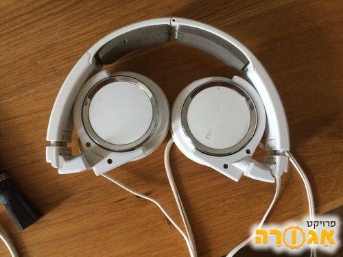 אוזניות JVC חצי עובדות