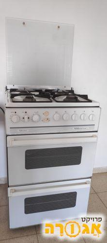 תנור כפול משולב כיריים