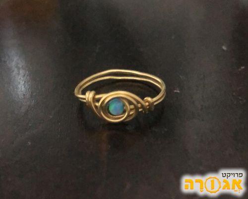 טבעת עבודת יד