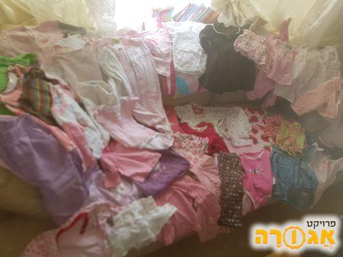בגדי תינוקות לבנות 0-12