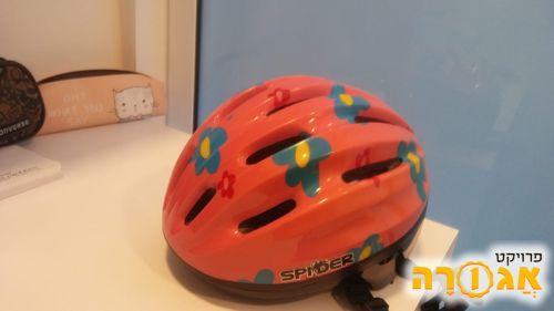קסדת אופניים לפעוטה/ילדה
