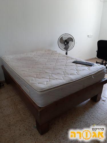 מיטה זוגית+מזרון