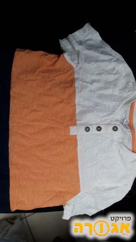 """חולצת טריקו חדשה מידה 6 נקנה מחו""""ל"""