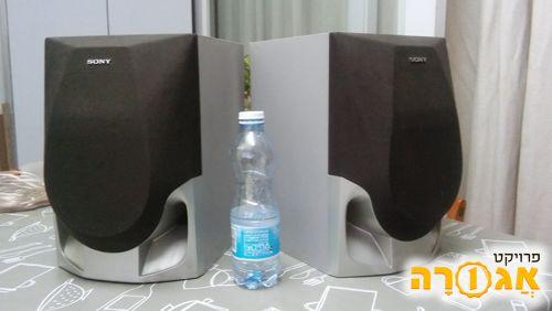 זוג רמקולים SONY 6 amp