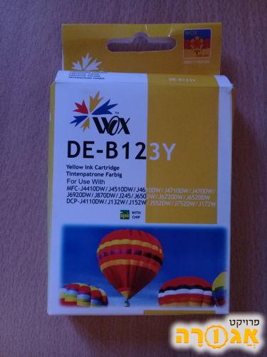 דיו לא מקורי DE-B123Y