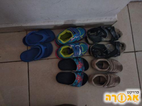 נעלי בנים לגיל שנתיים שלוש