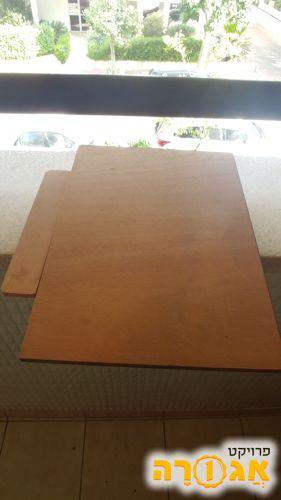 בה לוח שרטוט מעץ + סרגל t