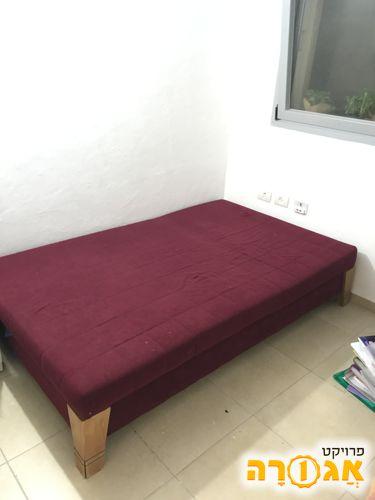 מיטת נוער/פוטון עם ארגז אחסון