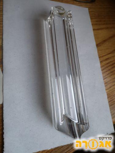 גופי זכוכית מנברשת עם סידור לתלייה