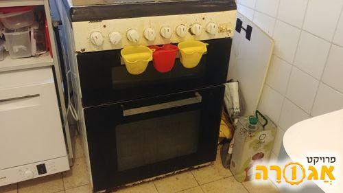 תנור + פלטה + כיריים