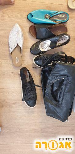 נעלי נשים ותיקים מידה 41