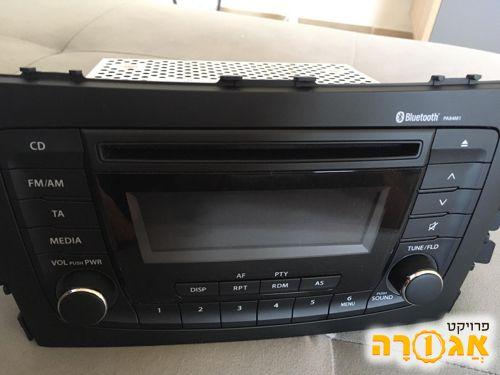 רדיו דיסק בלוטות' Panasonic חדשה לרכב