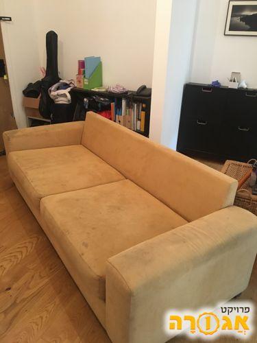 ספה לסלון מבד
