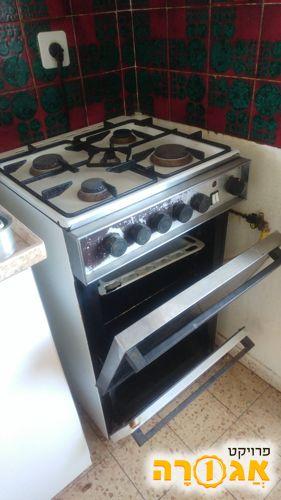כיריים גז משולב תנור