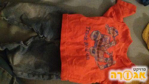 בגדי תינוקות בנים 6-12 חודש