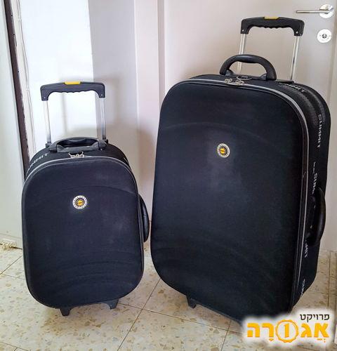 מזוודות - טרולי וגדול