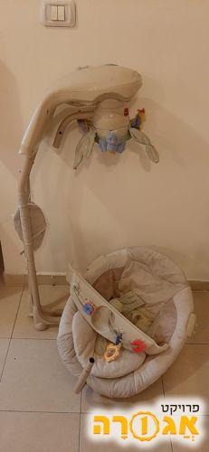 כיסא נדנדה לתינוק
