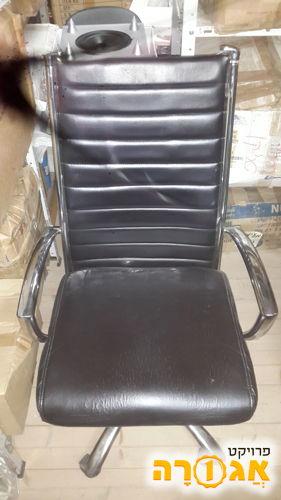 כסא משרדי עור (סינטטי)